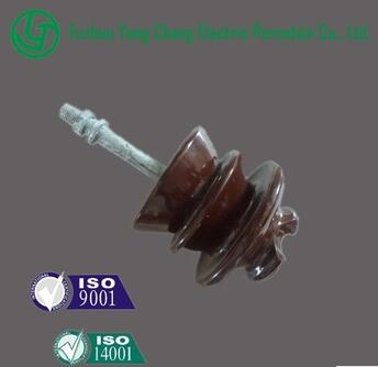 ISO9001:2008 high quality high voltage porcelain insulators
