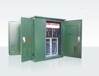 Ac Metal-enclosed Electrical High Voltage cable branch box with SF6 load Switchgear