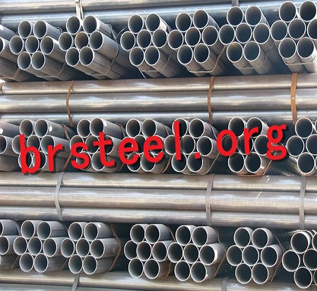 ERW Carbon Steel Pipes building material q195/q235 erw welded high quality tube