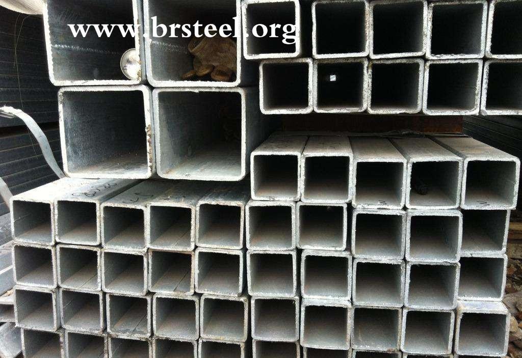 rectangular hollow section seamless steel tube carbon steel tube galvanized hollow section