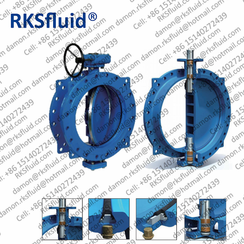 china factory supplier eccentric butterfly valves