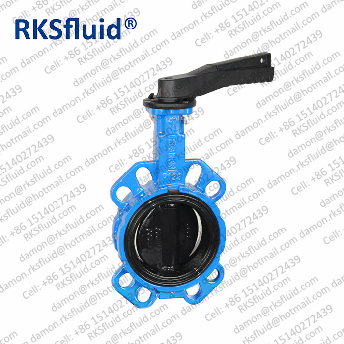 nylon11 disc cast steel butterfly valve for Seawater