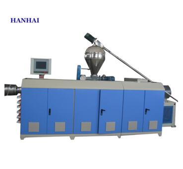 Plastic pvc window and door profile extrusion line by qingdao hanhai