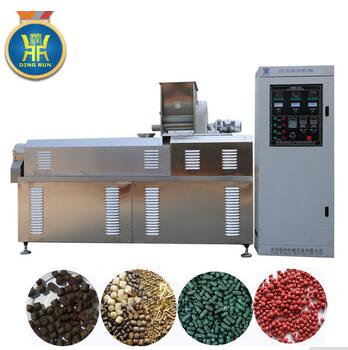 production line floating fish feed machinery price extrusion line fish meal pellet feed machine