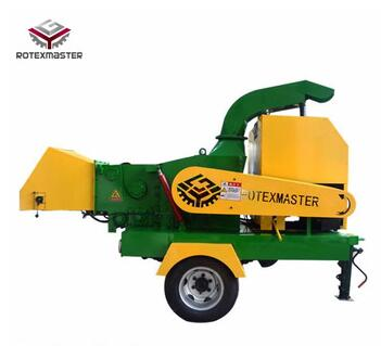 Duralbe Use Mobile Large Capacity 1000-2000Kg/h Diesle Wood Chipper with Best Price