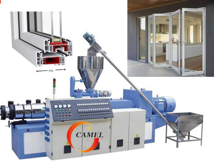 High Quality PVC Window and Door Profile Making Machine