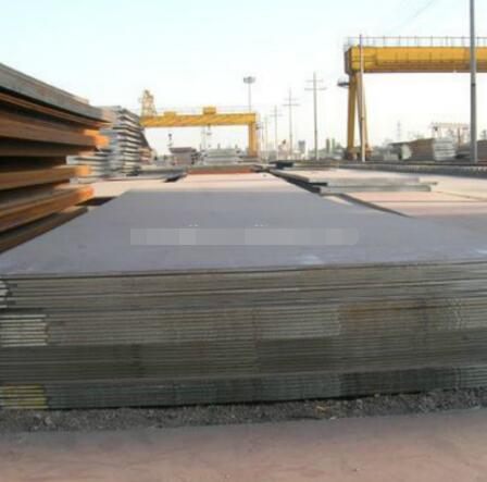 Hot rolled alloy steel plate with good cutting