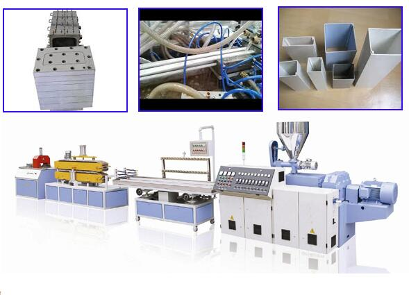 The Best and Cheapest automatic door pvc profile production line