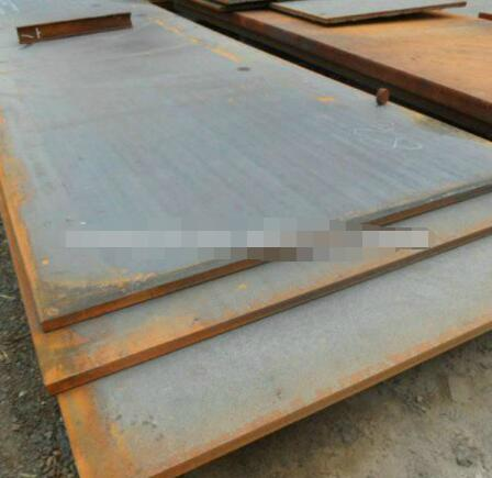 Alloy steel plate with good polishing performance