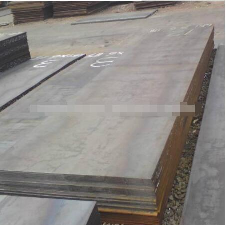 Manufacturing galvanized alloy steel plate