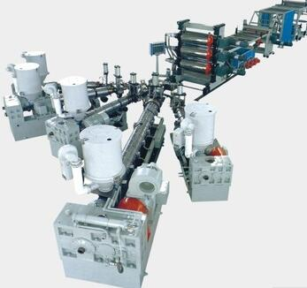 Quality reliable PP, PE, PVC, ABS, PMMA, PS, PET sheet extrusion lines