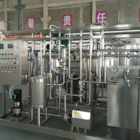 uht milk production line small production line