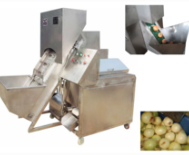 Automatic onion peeler machine commercial onions peeling machinery good price for sale