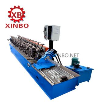U channel and stack and stand light keel roll forming machine
