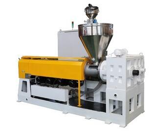 Single screw extruder for plastic pvc pipe making machine price