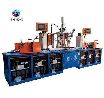 Upright column automatic welding machine industrial shelf gun rack