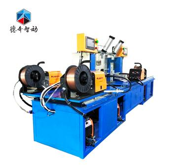 Produced in Dongguan, China automatic beam welding machine for storage shelves
