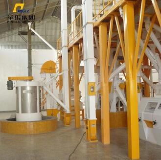 Different or 5 ton per day maize/wheat flour making milling machine