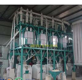 Good Quality 50T Wheat Flour Milling Machines With Price Cost