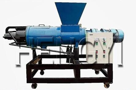 screw press cow dung dewatering machine, organic fertilizer solid liquid separator