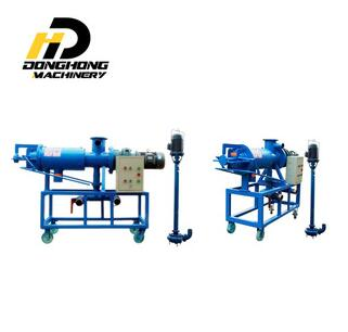 Industrial dewatering machine solid liquid poultry dung separator