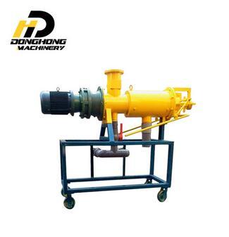 manure extruder dewatering, extruder dryer, solid liquid separator