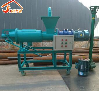 Automatic Solid Liquid Manure Separator Cheap Biogas Slurry Dewatering Machine Durable Chicken Dung Dewater Machine