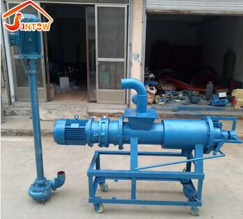 Poultry Cow Dung Dewatering Machine / Pig Manure Chicken Manure Extruder Dewatering ,Extruder Dryer ,Solid Liquid Separator