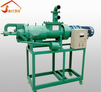 Horizontal Type Portable Automatic Stainless Steel Solid Liquid Separator,Screw Press Cow Dung Dewatering Machine