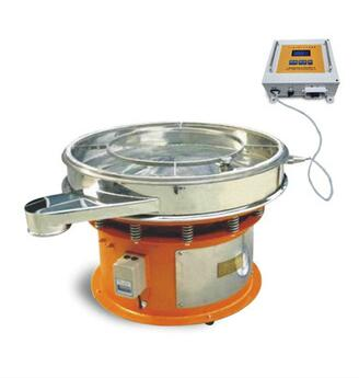 Circle Ultrasonic Vibro Separator Vibration Screen Machine 0.5kw for Flour Particles 304 CE&ISO&IAF