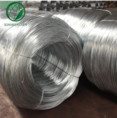 factory hot dipped galvanized iron wire for wire mesh fence