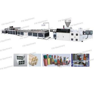 PVC profile production line/ PVC profile making machines