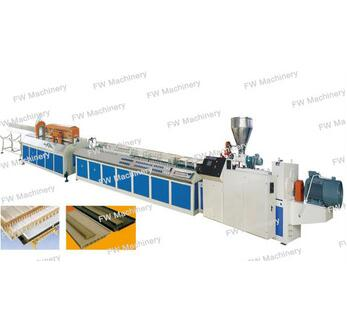 UPVC profile extrusion line/ UPVC profile making machine
