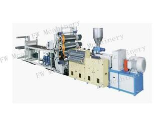 380V Double-screw plastic foam board production line