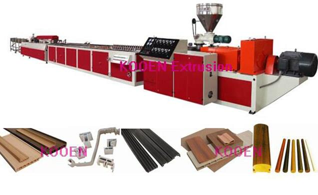 automatic PVC door making machine with high efficiency