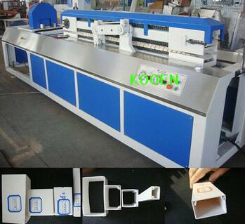PVC fencing making machine with advanced technology
