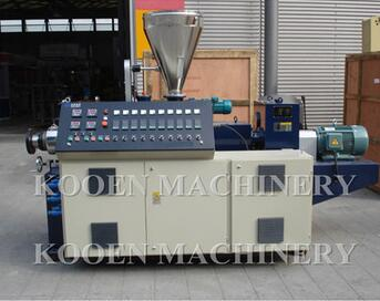 Filling master batch twin screw extruder price