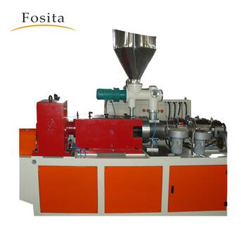 PVC PIPE strap conical double twin screw extruder making machine price