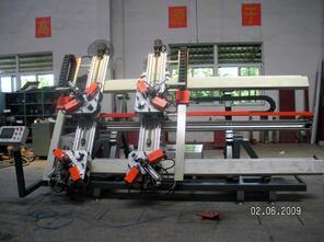 aluminum four-head corner crimping machine-aluminum profile machine-aluminum windows machine