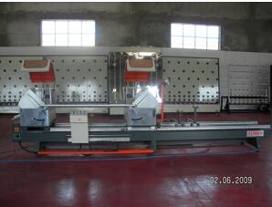 View larger image Aluminum window fabrication equipment-Aluminum Profile Digital-display Double-head Precision Cutting Saw  Aluminum window fabrication equipment-Aluminum Profile Digital-display Double-head Precision Cutting Saw
