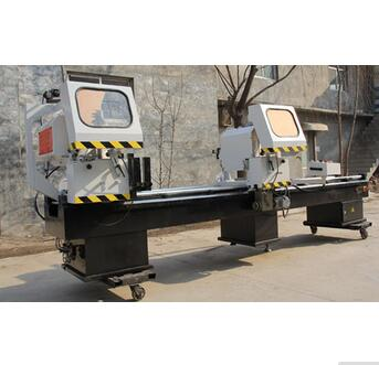 Heavy-duty Aluminium Profile Cutting Saw Machine/Aluminum Curtain-wall Double-head Cutting Saw