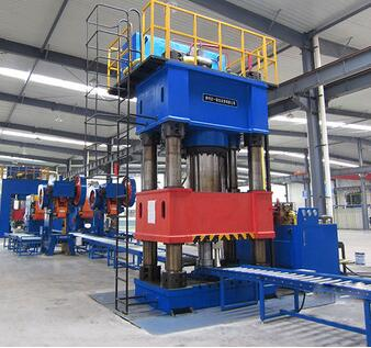 YD32G 4-Column High Speed Forming Hydraulic Press 63ton - 2000ton