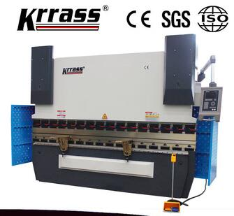 WE67K 40/2500 hydraulic cnc press brake , aluminum bending machine to make door
