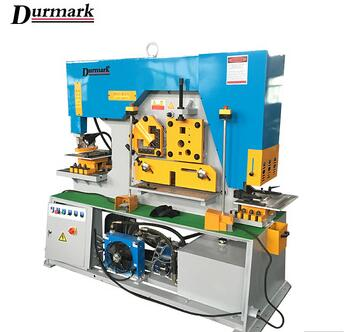 DIW-90T hydraulic ironworker,shearing and punching ironworker,hydraulic Iron worker