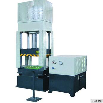 Four Columns Cold press machine cable punching machine