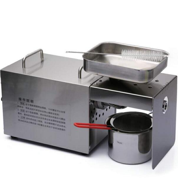good quality factory price mini sesame oil press machine