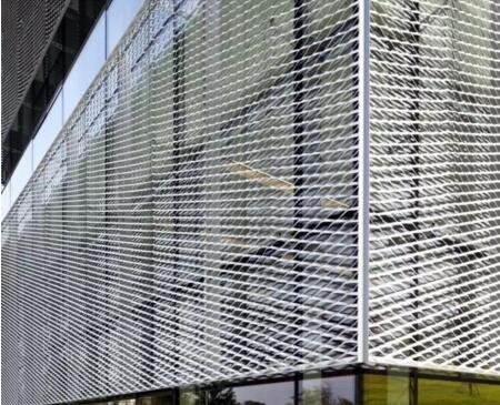 Decoration curtain wall metal wire mesh