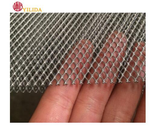 316 galvanized black embossed stainless steel mesh