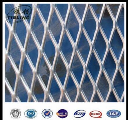 Galvanized Diamond hole expanded metal mesh