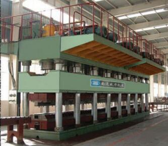 WEILI MACHINERY Factory Best Selling hydraulic hot press for wooden door